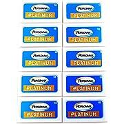 Personna Platinum Rasierklingen 100 Rasierklingen für Rasierhobel