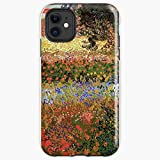 AZSTEEL Flowering Garden Vin-Tage Floral Garden Oil Painting by Vincent Van Gogh Iphone Soft Case Protect and Create for Your Iphone(5 = XI Pro Max)