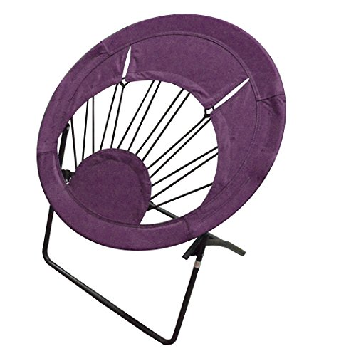 Impact Canopy 0460020008VC Folding Bungee Chair, Purple