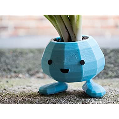 3D Printed Oddish Planter - Novelty Pokémon Fan Item