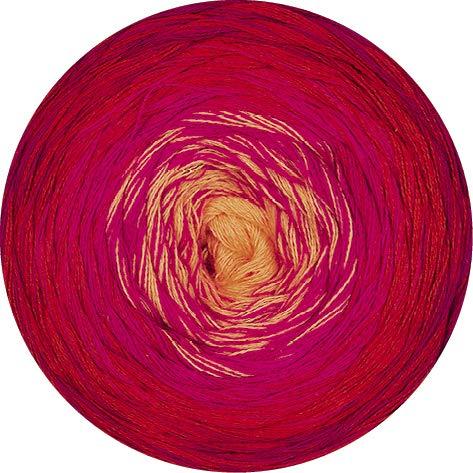 Lana Grossa Shades of Cotton 114 - Wein-/Rubinrot/Rot/Zyklam/Orange