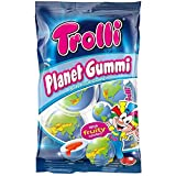 Trolli Planet Gum (75g) pack of 2 - Foamed Sugar Gumdrops with fruity filling by