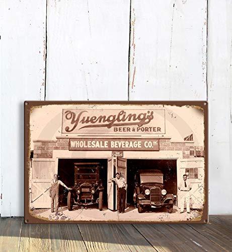 Unbekannt Yuengling Retro Bierschild, Barschild, Vintage Stil Bierschild, Home Bar Schild, Home Bar Schild, Home Wet Bar, Home Bar Dekor, Bar Bier Schilder, Retro Bar Schild