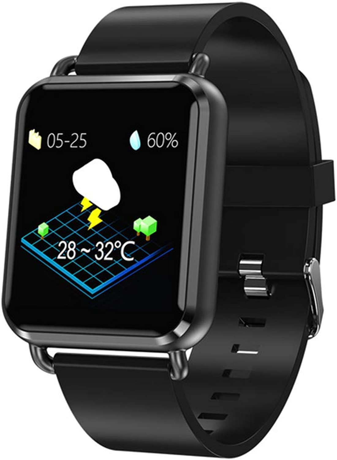 YSCYLY Smart Watch Fitness Tracker Blautooth Sport Waterproof Pedometer Heart Rate Blood Pressure Sleep Monitor Information Reminder
