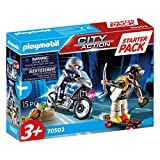 Playmobil - City Action Starter Pack, Police Chase, Multicolor (70502)