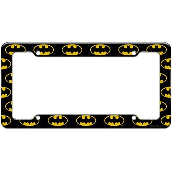 Graphics and More Batman Utility Belt Pattern License Plate Tag Frame