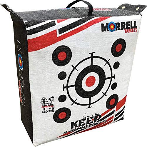 Morrell Keep Hammering Outdoor Range Target, White, 29' x 14' x 31'