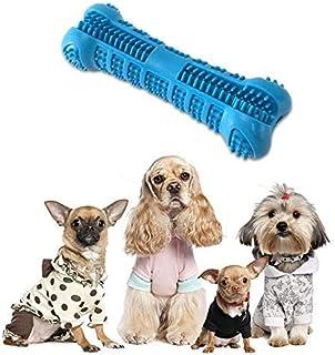Cepillo de dientes Hamkaw para perros, no tóxico, resistente a mordidas, de goma natural, para masticar perros, hueso, cuidado dental, limpieza eficaz de dientes para perros, cachorros, cuidado oral