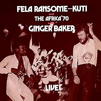 Black Man's Cry (feat. Ginger Baker) [Live] [Edit]