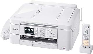 ブラザー プリンター A4 インクジェット複合機 MFC-J998DN FAX 電話機 子機1台付き 有線・無線LAN 両面印刷 ADF