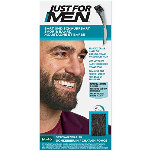 Just For Men Moustache and Beard Dark Brown (2020 Artwork) 28g