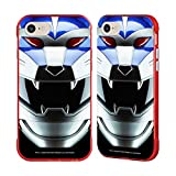 Head Case Designs Officially Licensed Power Rangers Lunar Wolf Wild Force Famous Helmet Red Fender Case Compatible with Apple iPhone 7 / iPhone 8 / iPhone SE 2020