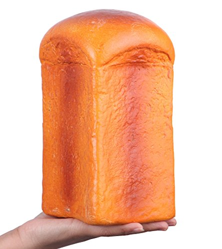 "Anboor 8.3"" Squishies Jumbo Slow Rising Kawaii Cute Columnar Squishy Loaf Bread 1 Pcs Color Random"