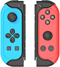 $42 » Joytorn Joy-Con Controller Replacement for Nintendo Switch Joycons,Switch Remote Joypad Wireless Controllers,Switch Joycon...