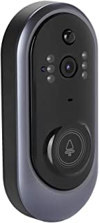 WiFi 1080P Smart Doorbell Camera with IR-Cut Filter Mode, PIR Motion Detection and Anti-Tamper Alarm Function.Home Intercom System Support Smartphone Monitoring