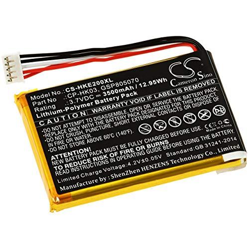 akku-net Powerakku für Lautsprecher Harman/Kardon Esquire 2, 3,7V, Li-Polymer