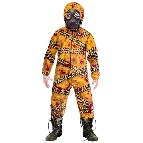 BOYS QUARANTINE ZOMBIE COSTUME - SMALL (5 - 7 YEARS)
