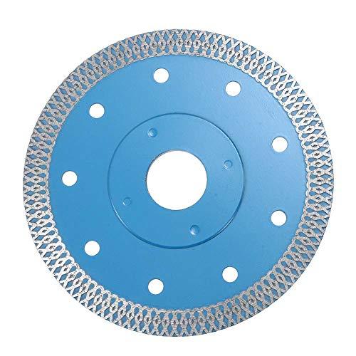 Cutogain - Disque de coupe en diamant pour porcelaine, carrelage, marbre et pierre - 115 / 125 mm, 125mm