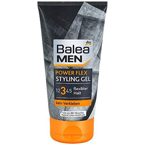 Balea Men Power Flex Styling Gel, 1er Pack (1 x 150 g)