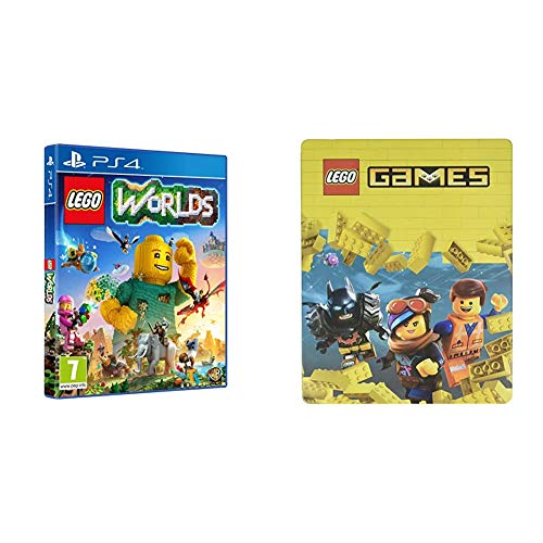 LEGO Worlds - Edición Exclusiva Amazon + Steelbook