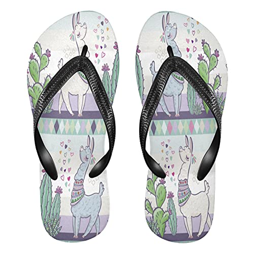 Linomo Chanclas para hombre y mujer, sandalias informales, sandalias de verano para la playa, color Multicolor, talla 35/36 EU