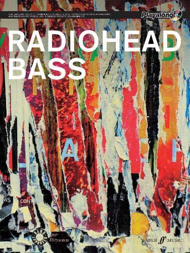 Radiohead Authentic Bass Playalong: Bass Tab + CD