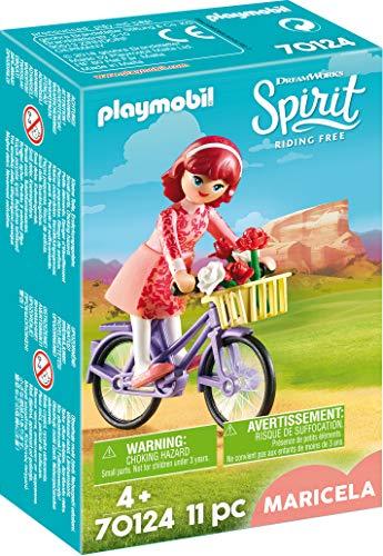 PLAYMOBIL 70124 Spirit - Riding Free Maricela mit Fahrrad, bunt