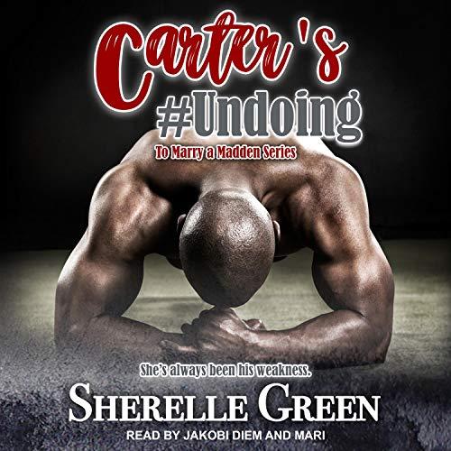 Carter's #Undoing cover art