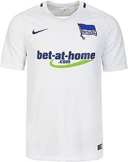Nike 2016-2017 Hertha Berlin Away Football Soccer T-Shirt Jersey