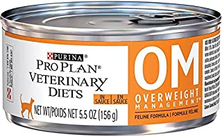 Purina Pro Plan Veterinary Diets OM Overweight Management Formula Canned Cat Food 12/5.5 oz
