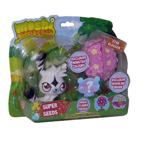 Moshi Monsters – Super Seeds – Katsuma + Moshling Surprise – Figurines 10cm + Aléatoire (Import UK)