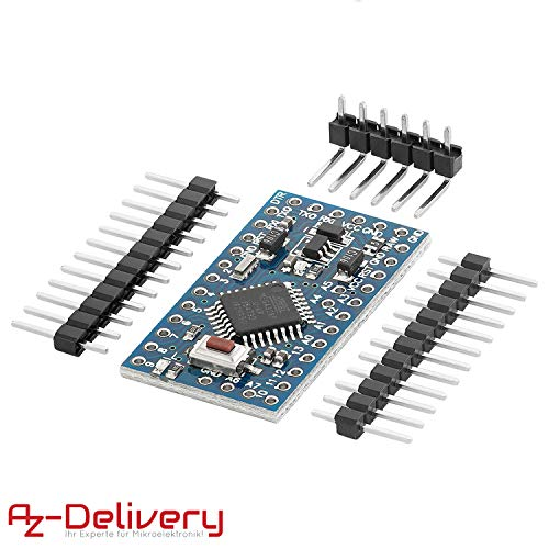 AZDelivery Pro Mini 5V ATmega328 16MHz eBook incluido