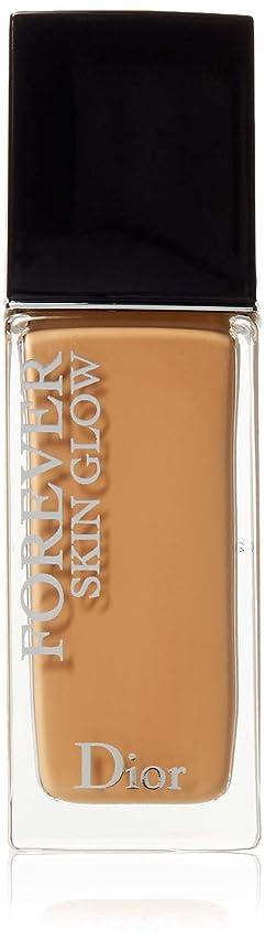 眉をひそめるトレイル平野クリスチャンディオール Dior Forever Skin Glow 24H Wear High Perfection Foundation SPF 35 - # 4W (Warm) 30ml/1oz並行輸入品