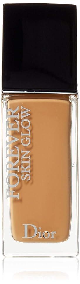 親指円形コンピュータークリスチャンディオール Dior Forever Skin Glow 24H Wear High Perfection Foundation SPF 35 - # 4W (Warm) 30ml/1oz並行輸入品