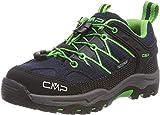 CMP – F.lli Campagnolo Kids Rigel Low Shoe Wp Trekking- & Wanderhalbschuhe, Blau (B.Blue-Gecko 51ak), 37 EU