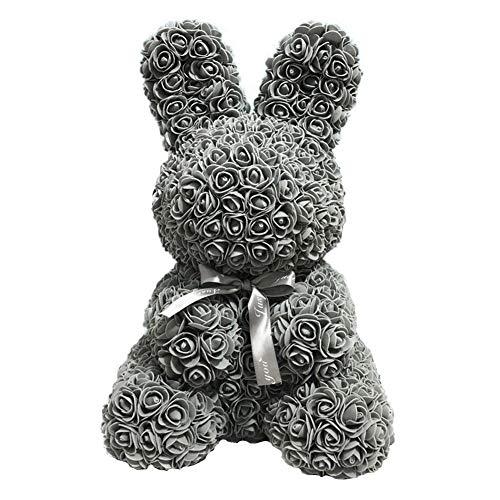 Conejo Rosa único hecho a mano Cara Cojín tumdee casas de Muñecas Miniatura Accesorios