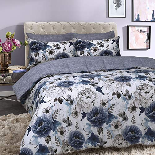 Sleepdown Inky Floral Blue Easy ...