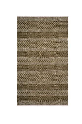FAB HAB Mir - Tapis Vert en Polyéthylène recyclé (Fibres Polyester) pour intérieur/extérieur (120 cm x 180 cm)
