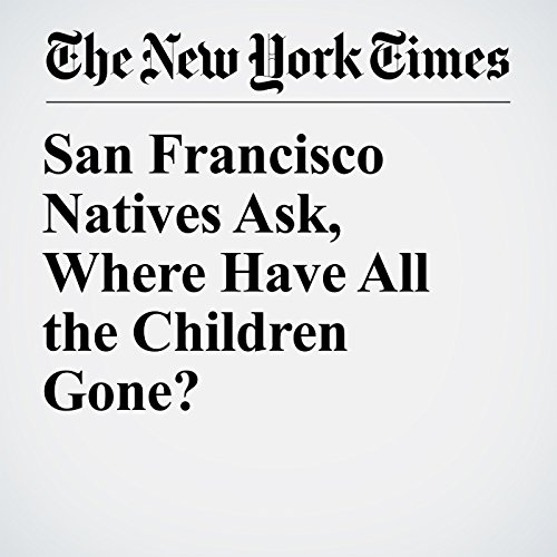 San Francisco Natives Ask, Where Have All the Children Gone? copertina