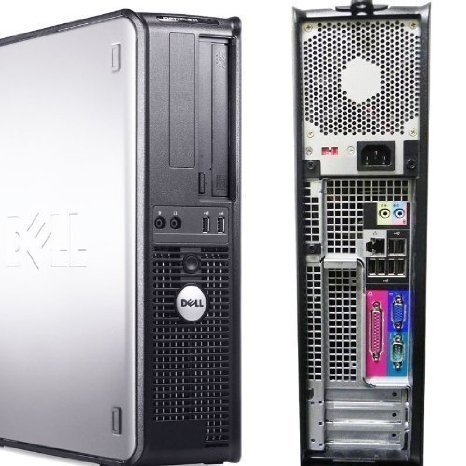 Dell Optiplex (1.6GHz Dual Core Processor, New 2GB Memory, 80GB Super Fast SATA Hard Drive, DVD/CDRW, Windows 10 Home x64)