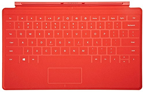 Red Touch Cover for Microsoft Surface