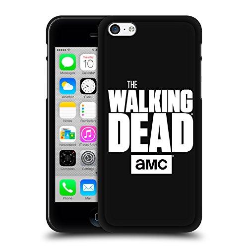 Head Case Designs Oficial AMC The Walking Dead Logo - Negro Varios diseños Funda de Gel Negro Compatible con Apple iPhone 5 / iPhone 5s / iPhone SE 2016