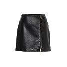 High-Rise Leather Miniskirt - Versace   Mytheresa