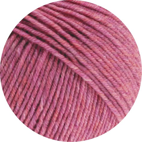 Lana Grossa Cool Wool Melange 130 - Altrosa meliert