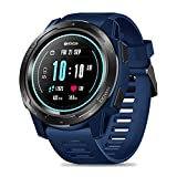Zeblaze Vibe 5 HR Reloj Inteligente Deportivo, Smartwatch Hombre Impermeable Bluetooth 4.0 Reloj Inteligente con Monitor de Ritmo Cardíaco/Sueño, Podómetro para iOS Android (Azul)
