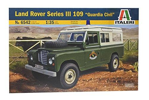 Outletdelocio Italeri 6542. Coche Land Rover III 109 'Guardia Civil. Maqueta de Montaje. Escala 1/35