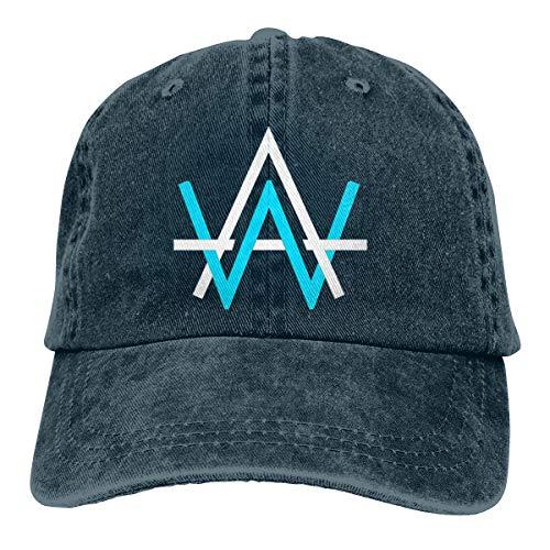 YYTEBBBX Alan Walker - Gorra, Color Negro Azul Marino Talla única