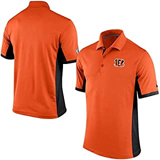 Nike Cincinnati Bengals Dri-Fit Team Issue Polo Shirt (Small)