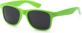 Retro Style Sunglasses - Bright Neon or Solid Colors with...