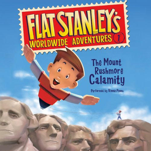 Flat Stanley's Worldwide Adventures #1 audiobook cover art